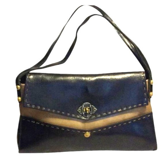 Jean Fogel Handbags - Jean Fogel vintage 1960's mod shoulder bag